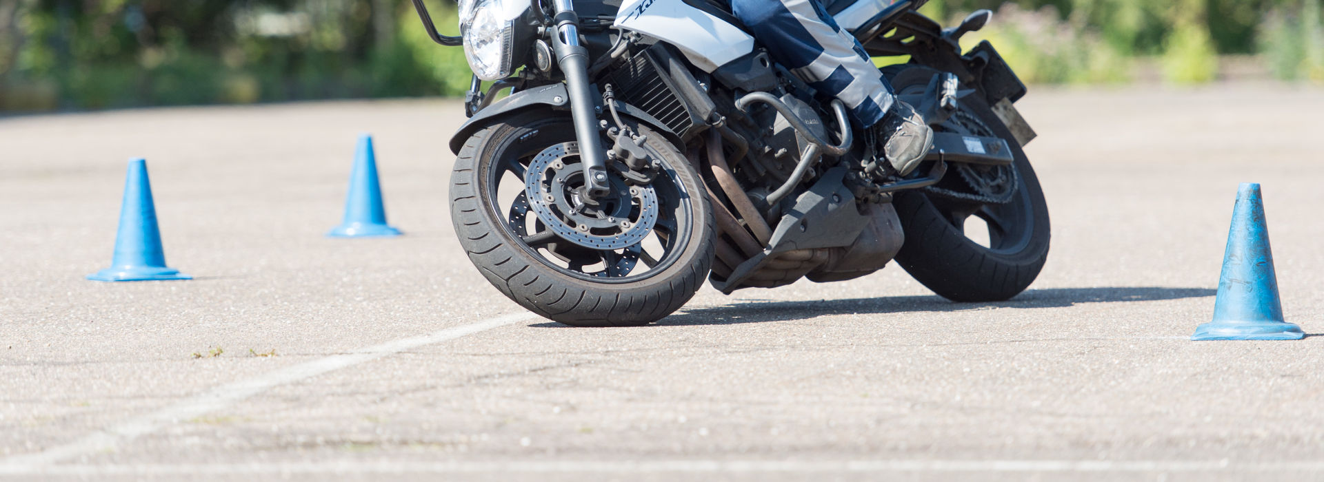 Motorrijbewijspoint Schiedam rijtest